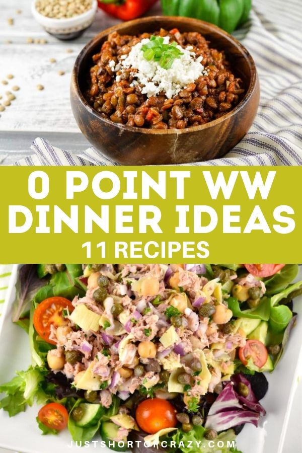 0 point WW dinner ideas