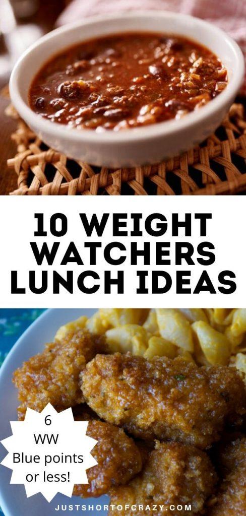 10 WW Lunch Ideas