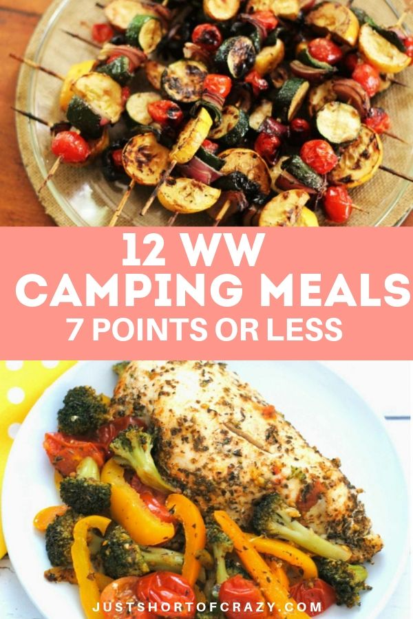 12 WW Camping Meals