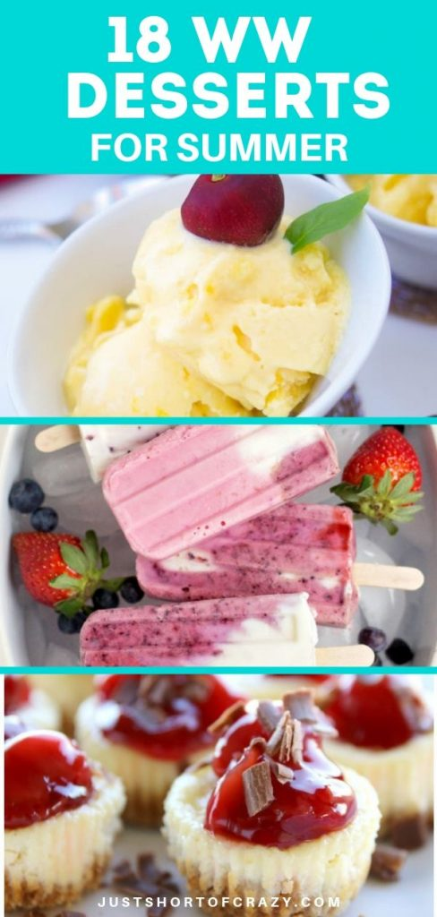 18 WW Summer Desserts