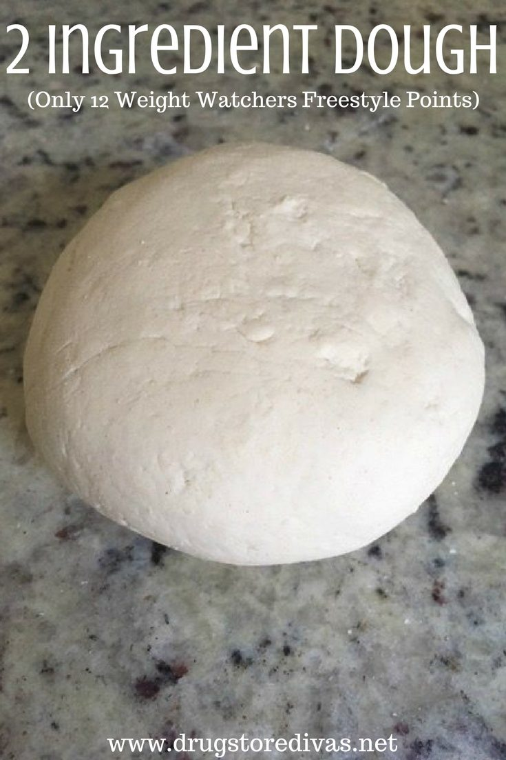 2 Ingredient Dough (Only 12 Weight Watchers Freestyle Points)