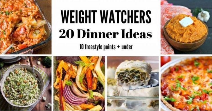 20 Dinner Ideas