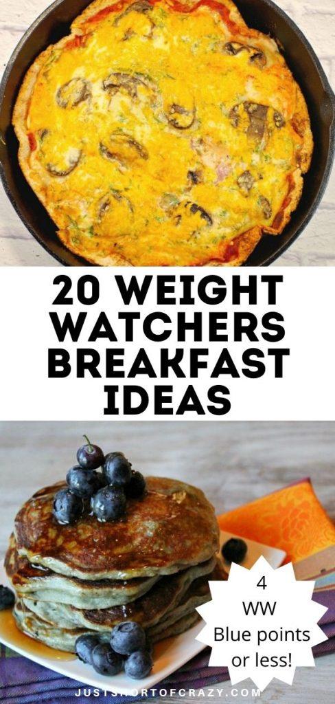 20 weight watchers breakfast ideas