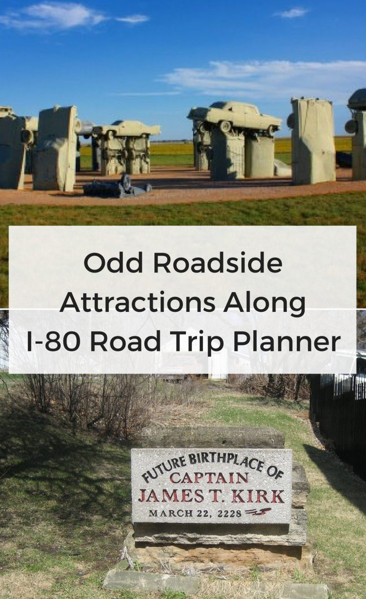 Odd Roadside Attractions Along I-80 Road Trip Planner