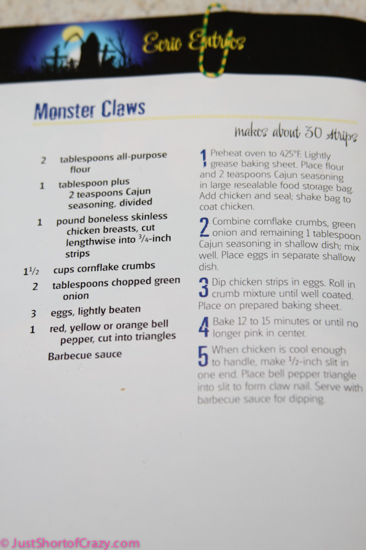 Perfect Halloween Treat: Monster Claws Recipe