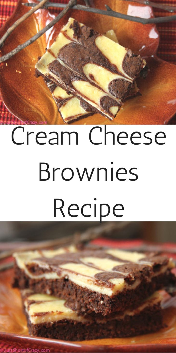 Cream Cheese Brownies Recipe