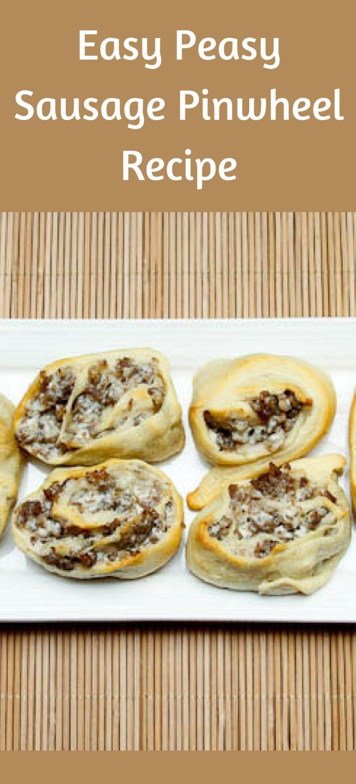 Easy Peasy Sausage PinwheelRecipe