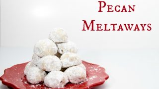 Pecan Meltaway Cookie Recipe