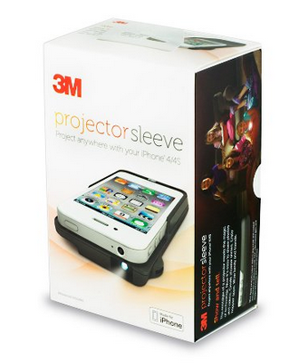 Easily share holiday photos with the 3m iphone projector for Projector that works with iphone
