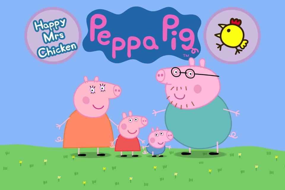 Peppa Pig Mrs Happy Chicken