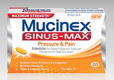 Mucinex SInus Max