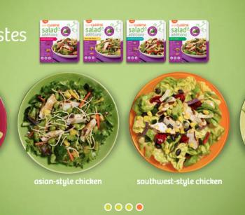 Lean Cuisine Salad Additions #BYOL