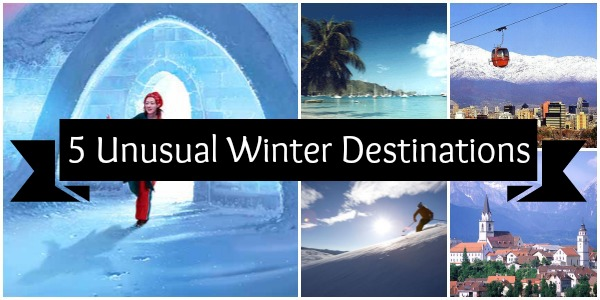 Check out the Top 5 Best Unusual Winter Travel Destinations your family will love!  This list includes some spectacular venues everyone will enjoy visiting.