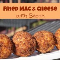 Fried Mac & Cheese with Bacon Recipe
