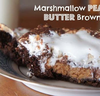 Marshmallow Peanut Butter Brownies
