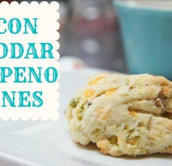 Bacon Cheddar Jalapeno Scones Recipe