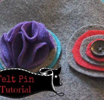 felt pins tutorial