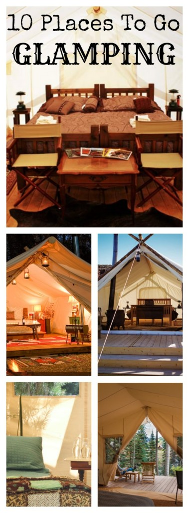 Glamping Destinations like these 10 must-visit glamping destinations on our list are just whatt you need to plan your next upscale camping adventure!