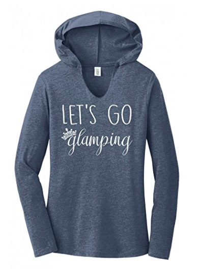 Let's Go Glamping Hoodie