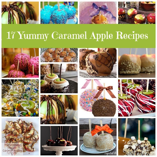 Caramel Apple Round Up
