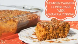 Pumpkin Caramel Coffee Cake Recipe