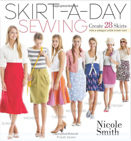 Skirt a day sewing book review