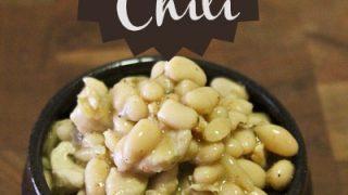 Quick & Easy White Chicken Chili Recipe