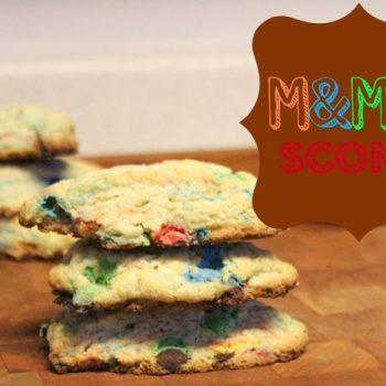 M&M Scones Recipe