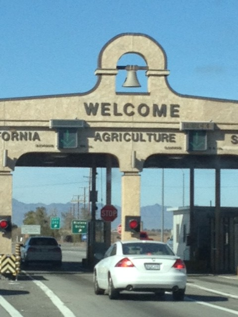 California border