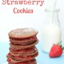 Nutella and Strawberry Cookies