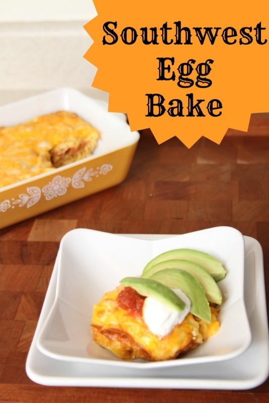 Southwestern Egg Bake Recipe