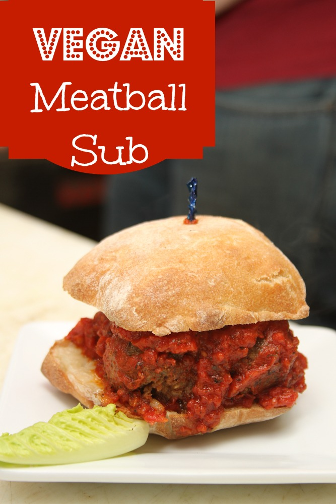 This Vegan Meatball Sub Recipe is just what you need when you are trying to cut meat from your diet but still want a hearty sandwich.