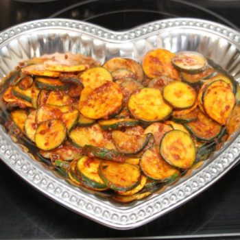 roasted red pepper & garlic squash