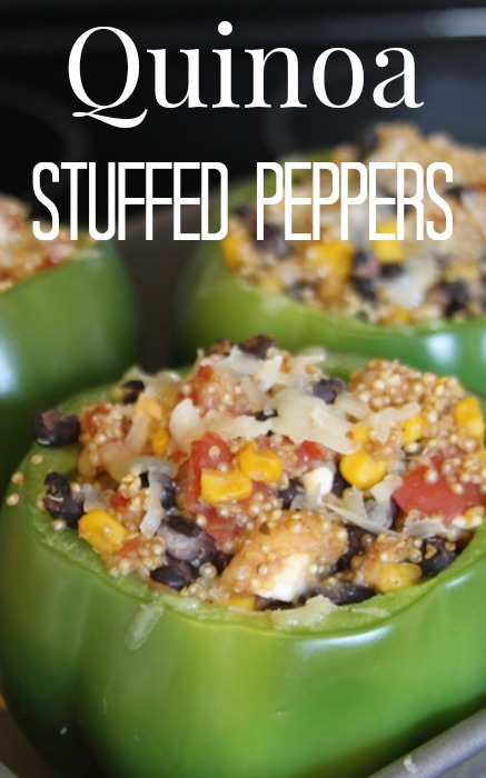 Make our Quinoa Stuffed Peppers featuring Roth Cheese for a delicious protein packed vegetarian friendly meal everyone will love!