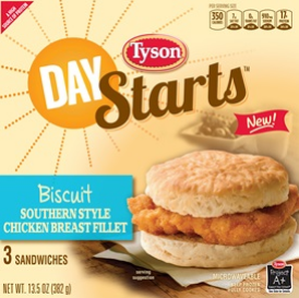 Tyson® Day Starts™products for busy mornings #BetterBreakfast