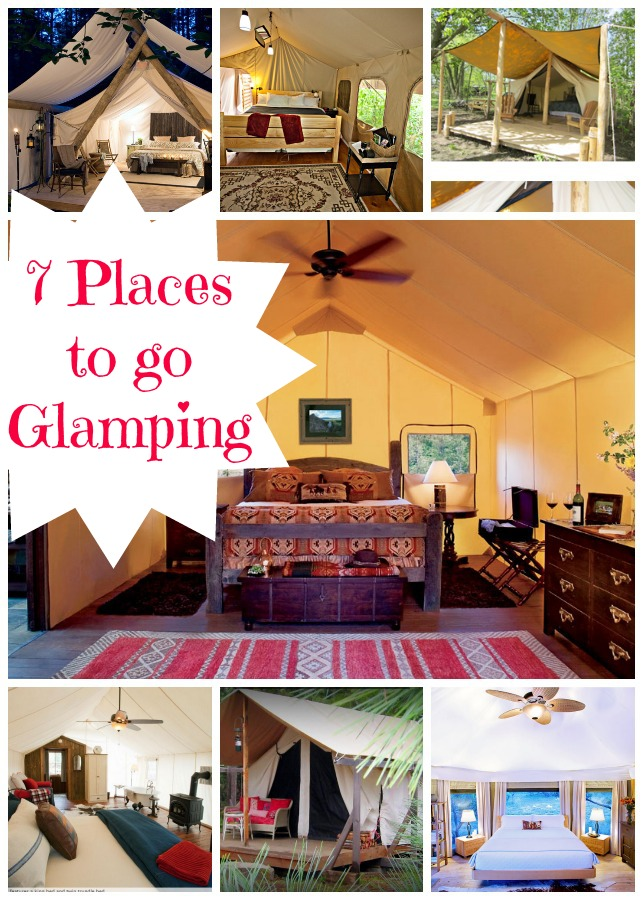 We've discovered 7 More Glamping Destinations for your next upscale camping vacation! Make plans to go glamping at one of these superior destinations today!