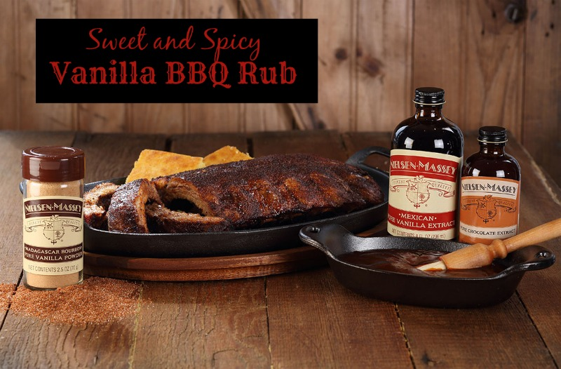 Sweet and Spicy Vanilla BBQ Rub Recipe