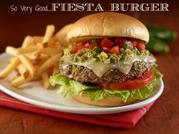 Hard Rock Cafe Fiesta Burger Recipe from Just Short of Crazy. Super yummy!