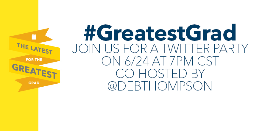 GreatestGrad Twitter Party