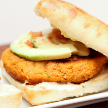 A1 Sweet Potato Burger-6