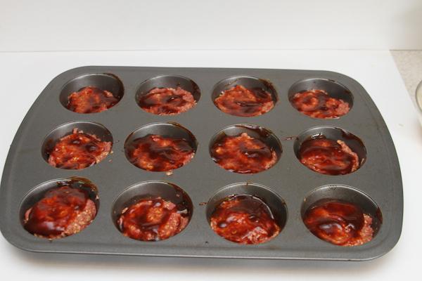Mini BBQ Meatloaf Recipe