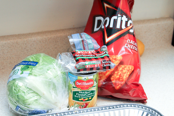 Take your boring old nachos up a step with this DORITOs NACHOS recipe