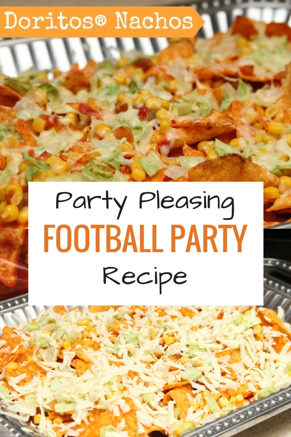 Perfect recipe for football and tailgate parties. Doritos Nachos for the win!