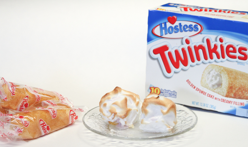 Twinkies Baked Alaska