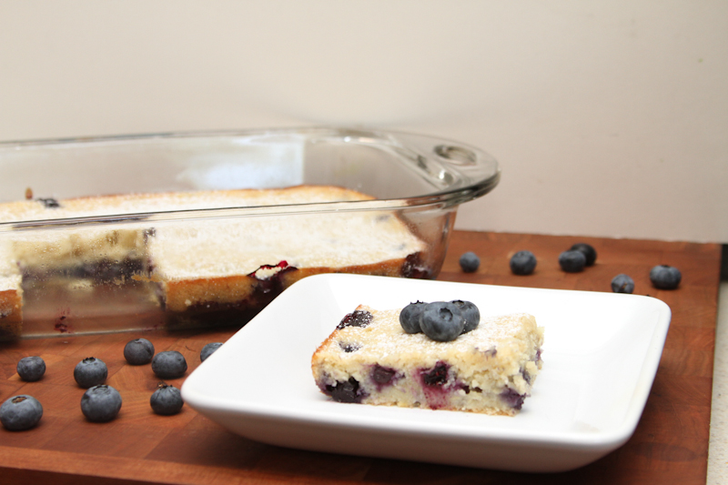 Blueberry banana bread-5