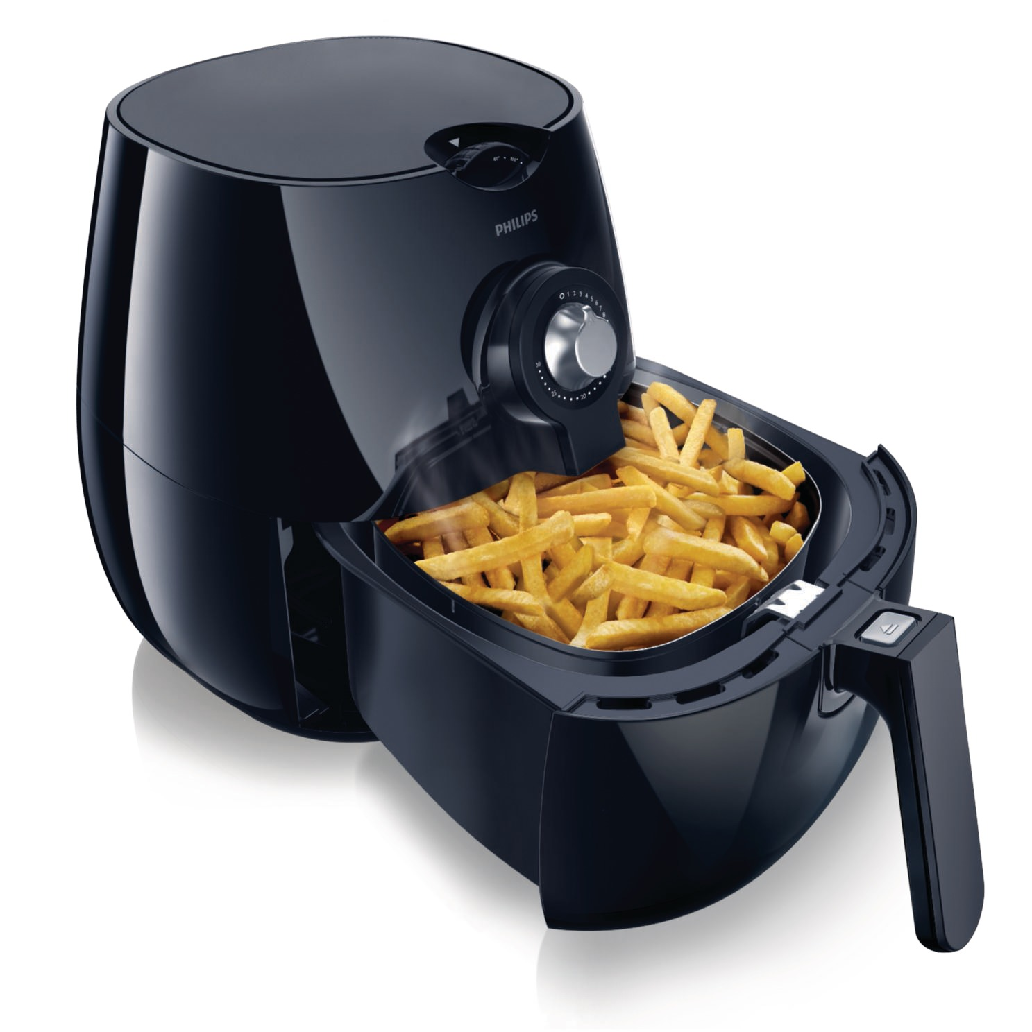 HD9220-26  Philips AirFryer Laydown In Use