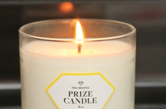 Finding Pretty Jewelry in a Prize Candle