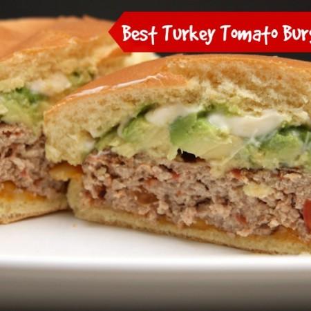 Red Gold Turkey Burger
