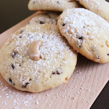 Cashew Chocolate Chip Cookies