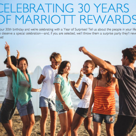 Marriott Rewards Year of Surprises